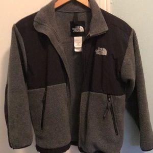 The North Face grey & black jacket